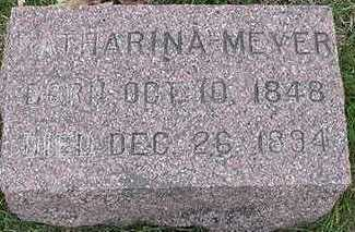 MEYER, KATHARINA - Sioux County, Iowa   KATHARINA MEYER