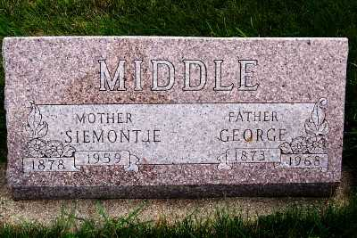 MIDDLE, SIEMONTJE - Sioux County, Iowa | SIEMONTJE MIDDLE