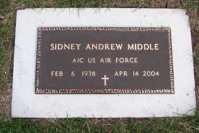 MIDDLE, SIDNEY ANDREW - Sioux County, Iowa | SIDNEY ANDREW MIDDLE