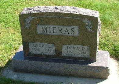 MIERAS, DENA D. (MRS. GEORGE) - Sioux County, Iowa | DENA D. (MRS. GEORGE) MIERAS