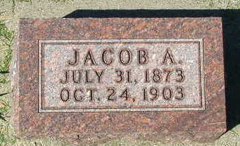 MIERAS, JACOB A. - Sioux County, Iowa | JACOB A. MIERAS