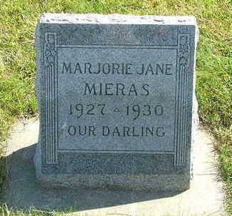 MIERAS, MARJORIE JANE - Sioux County, Iowa | MARJORIE JANE MIERAS