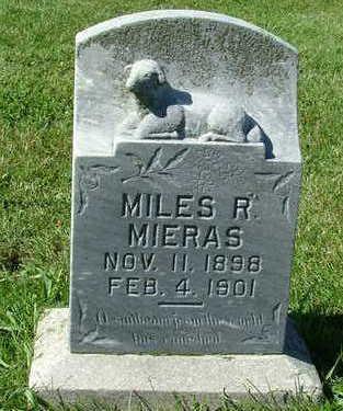 MIERAS, MILES R. - Sioux County, Iowa | MILES R. MIERAS
