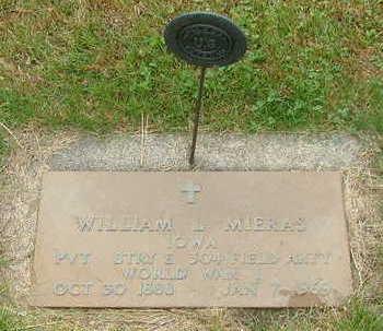 MIERAS, WILLIAM L. - Sioux County, Iowa | WILLIAM L. MIERAS