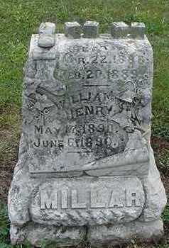 MILLAR, WM. HENRY - Sioux County, Iowa | WM. HENRY MILLAR