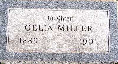 MILLER, CELIA - Sioux County, Iowa | CELIA MILLER