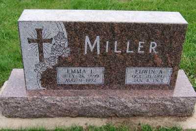 MILLER, EMMA L. (1899-1992) - Sioux County, Iowa | EMMA L. (1899-1992) MILLER