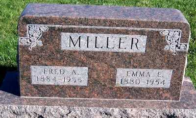 MILLER, FRED A. - Sioux County, Iowa | FRED A. MILLER