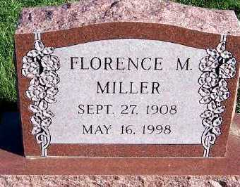 MILLER, FLORENCE M. - Sioux County, Iowa | FLORENCE M. MILLER
