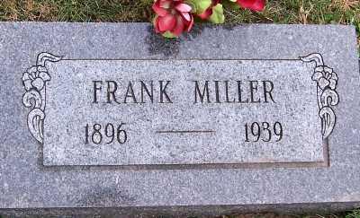MILLER, FRANK - Sioux County, Iowa | FRANK MILLER