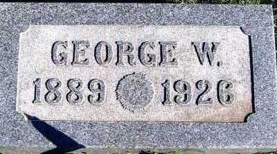 MILLER, GEORGE W. - Sioux County, Iowa | GEORGE W. MILLER
