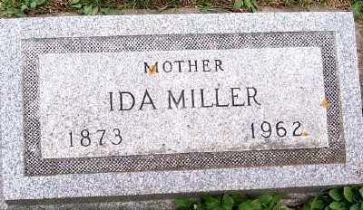 MILLER, IDA - Sioux County, Iowa   IDA MILLER
