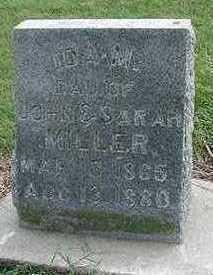 MILLER, IDA M. - Sioux County, Iowa | IDA M. MILLER