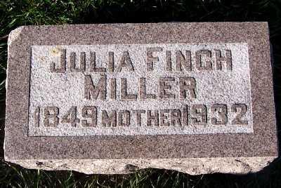MILLER, JULIA - Sioux County, Iowa | JULIA MILLER