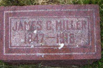 MILLER, JAMES C. - Sioux County, Iowa | JAMES C. MILLER