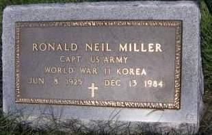 MILLER, RONALD NEIL - Sioux County, Iowa | RONALD NEIL MILLER