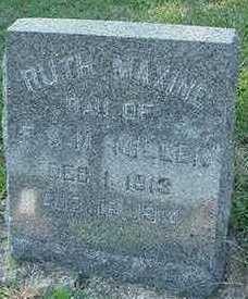 MILLER, RUTH MAXINE - Sioux County, Iowa | RUTH MAXINE MILLER