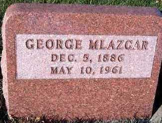MLAZGAR, GEORGE - Sioux County, Iowa | GEORGE MLAZGAR