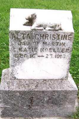 MOELLER, ALTA CHRISTINE - Sioux County, Iowa | ALTA CHRISTINE MOELLER
