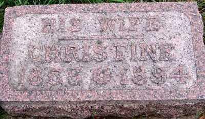 MOELLER, CHRISTINE (1856-1894) - Sioux County, Iowa   CHRISTINE (1856-1894) MOELLER
