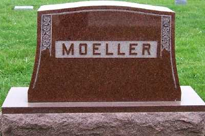 MOELLER, HEADSTONE - Sioux County, Iowa | HEADSTONE MOELLER