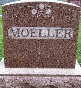 MOELLER, HEADSTONE - Sioux County, Iowa   HEADSTONE MOELLER