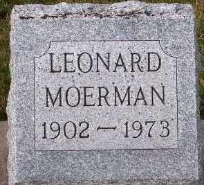 MOERMAN, LEONARD - Sioux County, Iowa | LEONARD MOERMAN