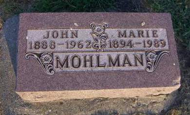 MOHLMAN, MARIE - Sioux County, Iowa | MARIE MOHLMAN