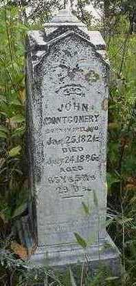 MONTGOMERY, JOHN - Sioux County, Iowa   JOHN MONTGOMERY