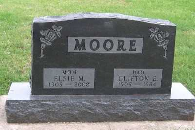 MOORE, CLIFTON - Sioux County, Iowa | CLIFTON MOORE