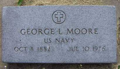 MOORE, GEORGE L. - Sioux County, Iowa | GEORGE L. MOORE