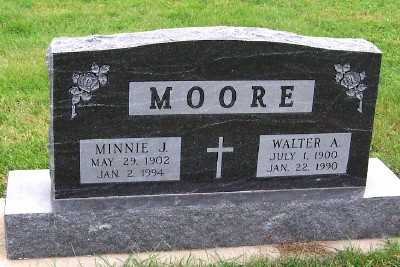 MOORE, WALTER A. - Sioux County, Iowa | WALTER A. MOORE