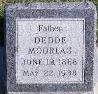 MOORLAG, DEDDE - Sioux County, Iowa   DEDDE MOORLAG