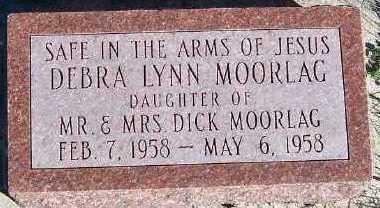MOORLAG, DEBRA LYNN - Sioux County, Iowa   DEBRA LYNN MOORLAG