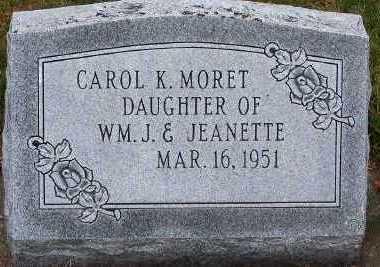 MORET, CAROL K. - Sioux County, Iowa | CAROL K. MORET