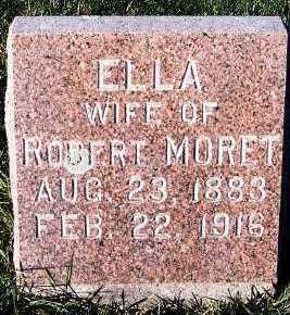 MORET, ELLA (MRS. ROBERT) - Sioux County, Iowa | ELLA (MRS. ROBERT) MORET