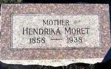 MORET, HENDRIKA - Sioux County, Iowa   HENDRIKA MORET