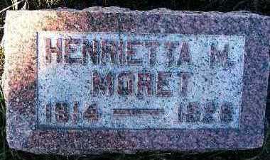 MORET, HENRIETTA M. - Sioux County, Iowa | HENRIETTA M. MORET