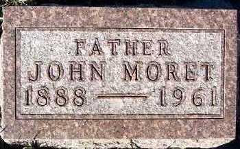 MORET, JOHN - Sioux County, Iowa | JOHN MORET