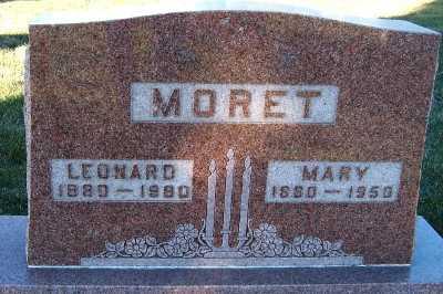MORET, LEONARD - Sioux County, Iowa | LEONARD MORET