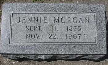 MORGAN, JENNIE - Sioux County, Iowa | JENNIE MORGAN