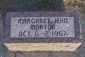 MORTON, MARGARET JEAN - Sioux County, Iowa | MARGARET JEAN MORTON