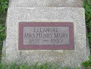 MORY, ELEANORE (MRS. HENRY) - Sioux County, Iowa | ELEANORE (MRS. HENRY) MORY
