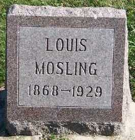 MOSLING, LOUIS - Sioux County, Iowa | LOUIS MOSLING