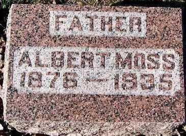 MOSS, ALBERT - Sioux County, Iowa | ALBERT MOSS