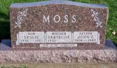 MOSS, GERTRUDE - Sioux County, Iowa | GERTRUDE MOSS