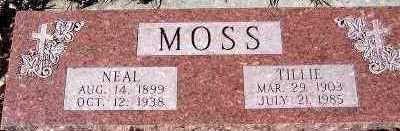 MOSS, NEAL - Sioux County, Iowa | NEAL MOSS