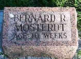 MOSTERDT, BERNARD R. - Sioux County, Iowa   BERNARD R. MOSTERDT