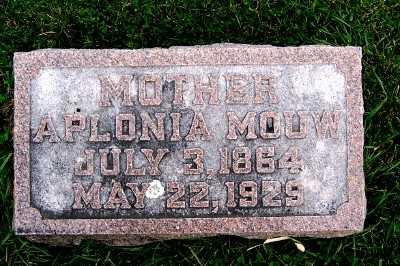 MOUW, APLONIA - Sioux County, Iowa | APLONIA MOUW