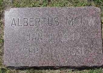 MOUW, ALBERTUS M. - Sioux County, Iowa | ALBERTUS M. MOUW